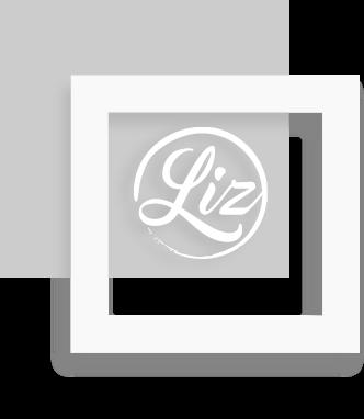LOOKS BY LIZ | Logo in kader